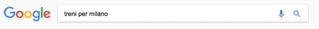 Query di ricerca