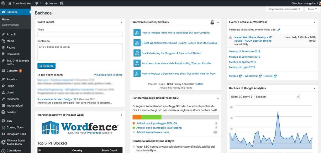 Formazione, assistenza e consulenza WordPress